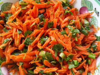 Asian-Style Carrot Salad