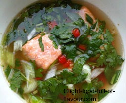 Hot And Sour Salmon Soup