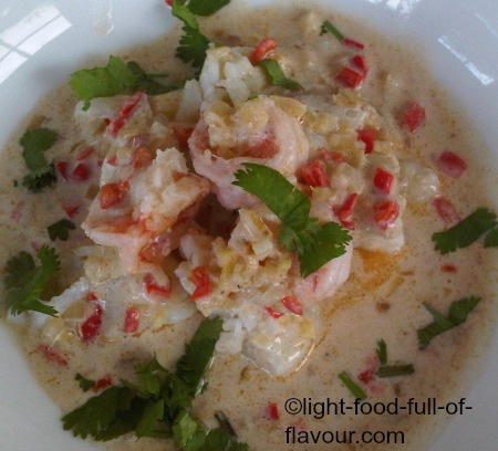 Prawn And Mixed Fish With Lime And Chilli