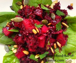 Beetroot And Apple Salad