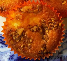 Devon Apple Cakes With A Nut And Cinnamon Topping