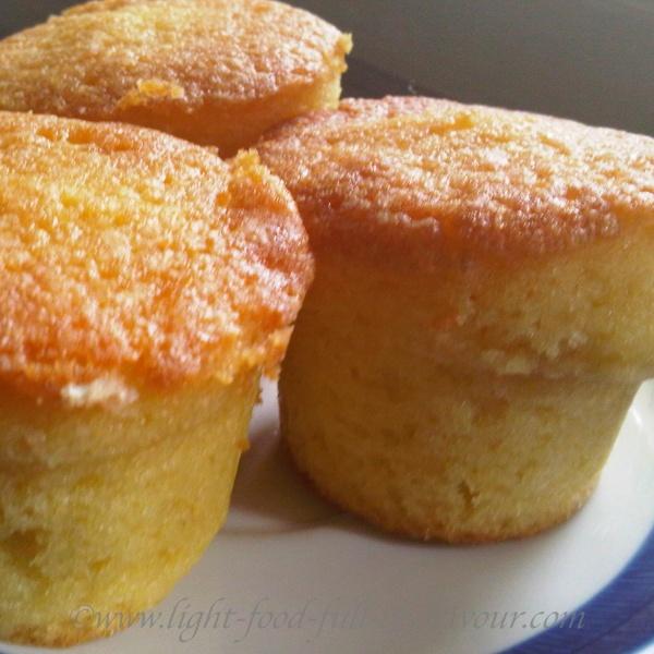 Almond Lemon Drizzle Cakes