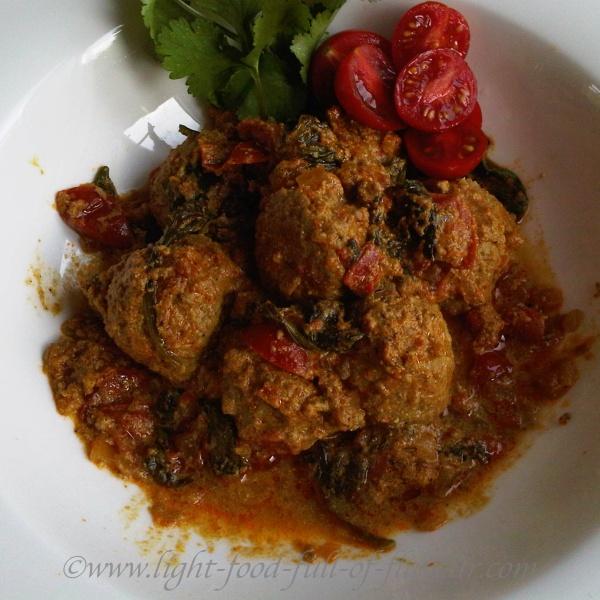 Lamb Kofta In A Tomato Sauce