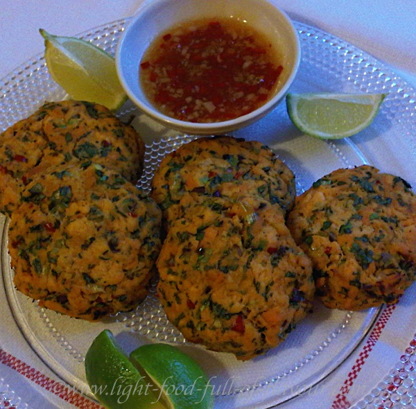 Salmon Sweet Potato And Chilli Fishcakes