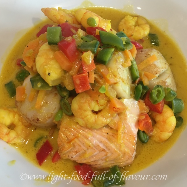 Swedish Seafood Casserole With Saffron