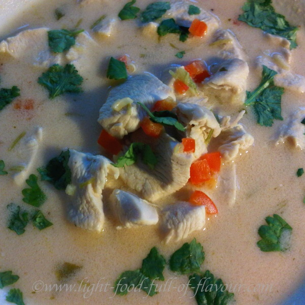 Thai-Style Chicken Soup