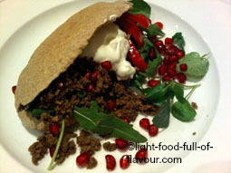 Lebanese-Style Lamb In Pitta Bread