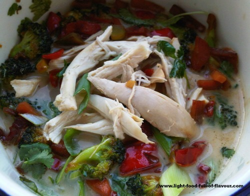 Asian style poached chicken