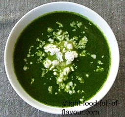 Watercress And Spinach Soup
