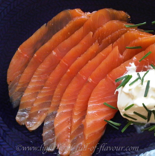 Cured Salmon Two Ways