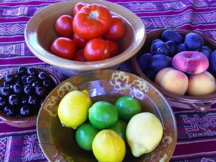 Beautiful and healthy fruit and vegetables