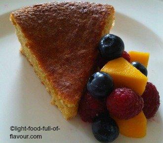 Lime And Almond Cake