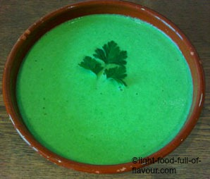Pea Soup Two Ways
